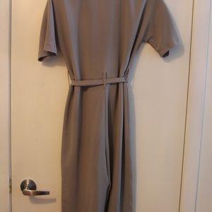 ASOS Petite Pants - ASOS Petite Wrap Jumpsuit With Self Belt